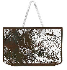 Running Hare Weekender Tote Bag