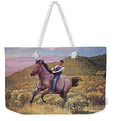 Runaway Roan Weekender Tote Bag