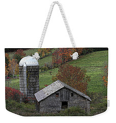 Rupert Mountain Face Barn Weekender Tote Bag