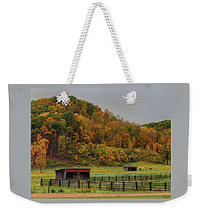 Rural Beauty In Ohio  Weekender Tote Bag