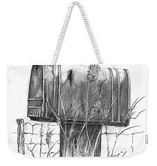 Rural Country Mailbox Weekender Tote Bag