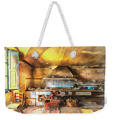 Weekender Tote Bag featuring the photograph Rural Culinary Atmosphere Nr 2 - Atmosfera Culinaria Rurale IIi Paint by Enrico Pelos