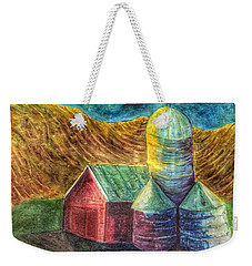Rural Farm Weekender Tote Bag by Jame Hayes