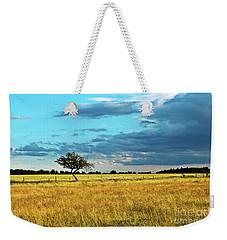 Rural Idyll Poetry Weekender Tote Bag