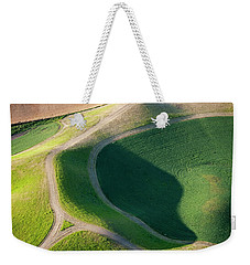 Rural Intersection Weekender Tote Bag