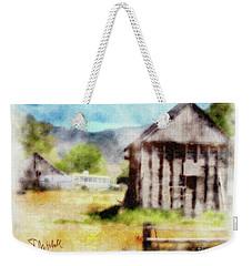 Rural Remnants Weekender Tote Bag