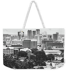 Weekender Tote Bag featuring the photograph Rural Scenes In The Magic City by Shelby Young