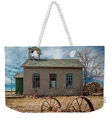 Rural School Weekender Tote Bag