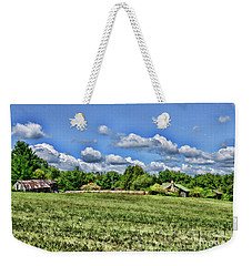 Weekender Tote Bag featuring the photograph Rural Virginia by Paul Ward