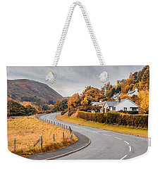Rural Wales In Autumn Weekender Tote Bag