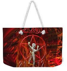 Rush 2112 Weekender Tote Bag by Kevin Caudill