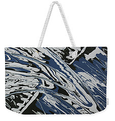 Rush Drip Weekender Tote Bag by Cathy Beharriell