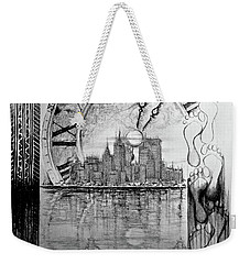 Rush Hour Weekender Tote Bag