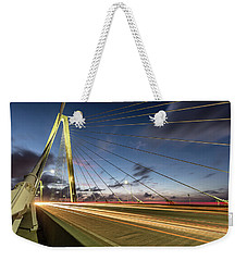 Rush Hour - Ravenel Bridge Charleston Sc Weekender Tote Bag