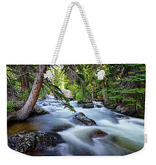 Rushing By Weekender Tote Bag