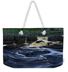 Rushing By The Falls Weekender Tote Bag