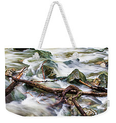 Rushing High Waters  Weekender Tote Bag