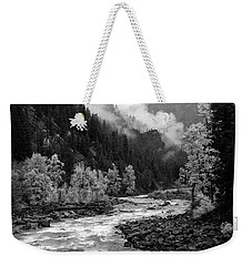 Rushing River Weekender Tote Bag