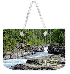 Rushing Water Weekender Tote Bag