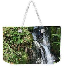 Rushing Water Weekender Tote Bag by Victoria Harrington