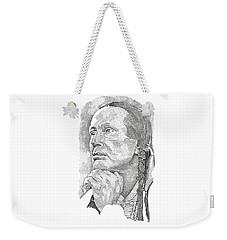 Russell Means Weekender Tote Bag