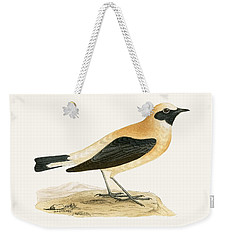 Russet Wheatear Weekender Tote Bag by English School