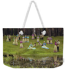 Russian Folk Group Weekender Tote Bag