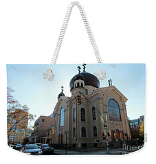 Russian Orthodox Cathedral Of The Transfiguration Of Our Lord Weekender Tote Bag