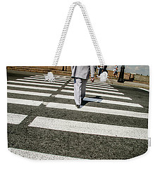 Russian Street Crossing Weekender Tote Bag