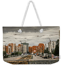 Russian Urban Life Weekender Tote Bag