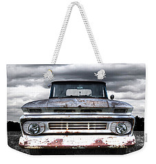 Rust And Proud - 62 Chevy Fleetside Weekender Tote Bag
