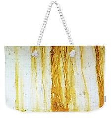 Rust Weekender Tote Bag by Anne Kotan