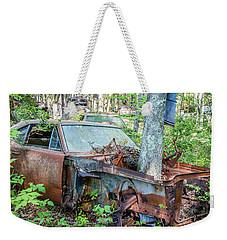 Rust Away Weekender Tote Bag