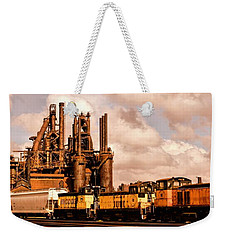 Rust In Peace Weekender Tote Bag