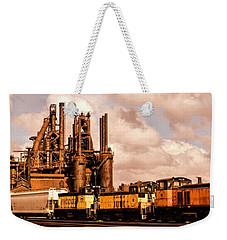 Rust In Peace Weekender Tote Bag