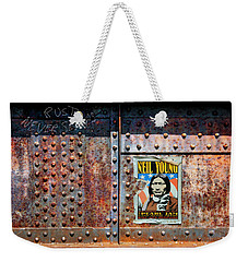 Rust Never Sleeps, Neil Young Weekender Tote Bag