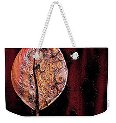 Rusted Flower Weekender Tote Bag