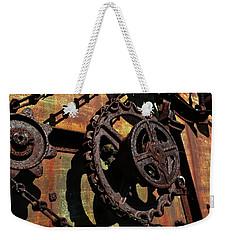 Rusted Gears Weekender Tote Bag