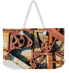 Rusted Reaction Weekender Tote Bag