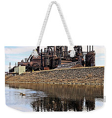 Rusted Relection Weekender Tote Bag