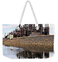 Rusted Relection Weekender Tote Bag by DJ Florek