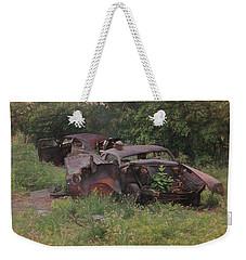 Rusted Weekender Tote Bag