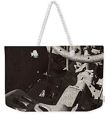 Rusted Tractor Weekender Tote Bag by Michelle Calkins