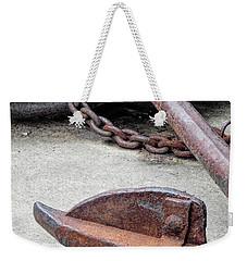 Rustic Anchor Weekender Tote Bag