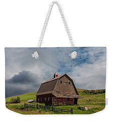 Rustic Barn Palouse Washington Weekender Tote Bag by James Hammond