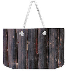 Rustic Barnwood Shower Curtain Weekender Tote Bag