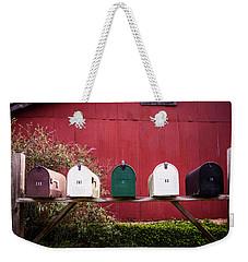 Rustic Beauty Weekender Tote Bag
