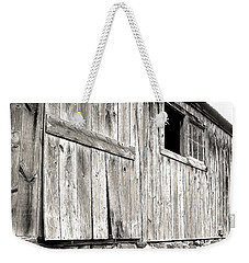 Weekender Tote Bag featuring the photograph Rustic by Betsy Zimmerli