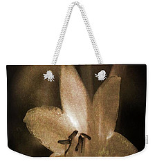 Rustic Bloom Weekender Tote Bag