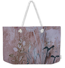 Weekender Tote Bag featuring the painting Rustic Breeze by Robin Maria Pedrero